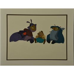 Rock-A-Doodle Original Animation Production Cel Pig