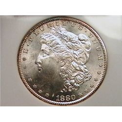 1880-S Morgan Dollar MS65 NGC