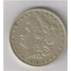 1878 VAM169 HOT 50 MORGAN SILVER DOLLAR