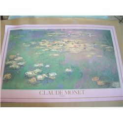 "Claude Monet ""Nympheas"" Lithograph"