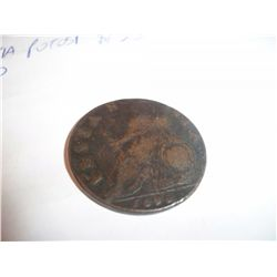 *** RARE*** 1699 William III Halfpenny Colonial Coin W/Error-Britain has i Missing