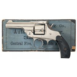 Excellent Hopkins & Allen Top Break Double Action Revolver with Rare Original Box