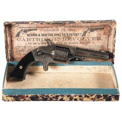 Merwin & Bray Front Loading Pocket Revolver with Original Box