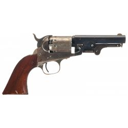 Fine Manhattan Firearms Navy Type Percussion Revolver