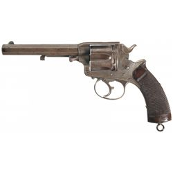 V&R Blakemore London Marked William Tranter Patent Model 1878 Double Action Army Revolver with Unit