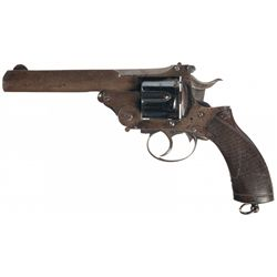 Bland & Sons Double Action Self Extracting Army Revolver