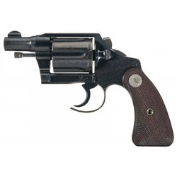 Rare Factory Fitz Cutaway Colt Detective Special Double Action Revolver with Factory Letter