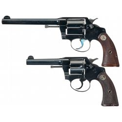 Collector's Lot Two Colt Double Action Revolvers