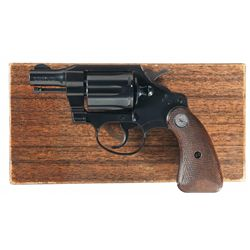 Colt Detective Special Double Action Revolver with Box