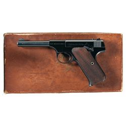 Excellent Colt Woodsman Sport Model Semi-Automatic Pistol