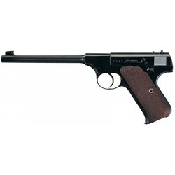 Excellent Colt Pre-Woodsman Semi Automatic Pistol