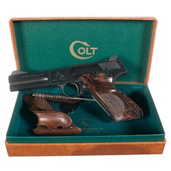 Excellent Colt Woodsman Second Series Match Target Semi-Automatic Pistol with Box