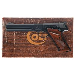 Colt Woodsman Third Series Match Target Pistol with Original Box