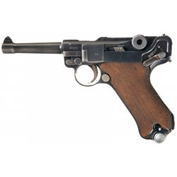 "Desirable Pre-War 1936 Dated Mauser ""S/42"" Code Nazi Luger Pistol with 1936 Dated Holster"
