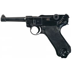 "WWII Nazi ""byf"" Code 1941 Dated Mauser Black Widow Luger"