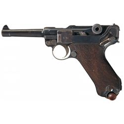 WWI 1918 Dated Erfurt Luger Pistol