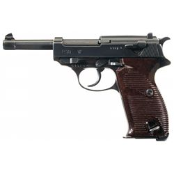 """WWII Nazi Mauser """"BYF/44"""" Code P38 Semi-Automatic Pistol with Holster"""