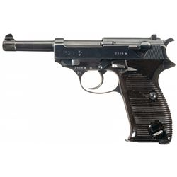 """Walther """"ac/41"""" Code P-38 Pistol with Matching Magazine"""