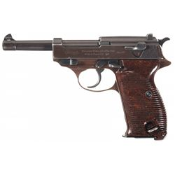Late WWII Commercial Walther P38 Semi-Automatic Pistol