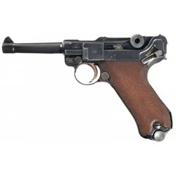 """1937 Dated Mauser """"S/42"""" Luger Pistol"""