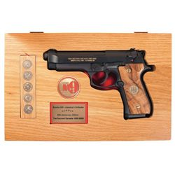 Cased Beretta M9  The Second Decade  Commemorative Semi-Automatic Pistol