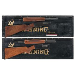 Two Boxed Browning Shotguns