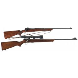 Collector's Lot of Two Winchester Sporting Rifles