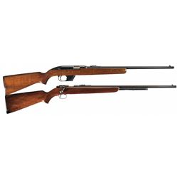 Collector's Lot of Two Winchester .22 Rifles