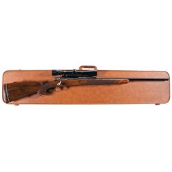 Belgian Browning FN Medallion Grade High-Power Bolt Action Rifle with Scope and Case