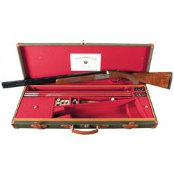 Cased Ruger Golden Quail Over/Under Shotgun with Box