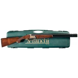 Franchi Alcione T Model Over/Under Shotgun with Hard Plastic Case