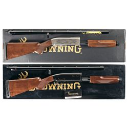 Two Boxed Browning BPS Slide Action Shotguns