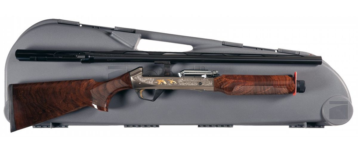 American Eagle Credit Card Sign In >> Benelli Super Black Eagle II Atlantic Flyway Limited Edition Semi-Automatic Shotgun with Case
