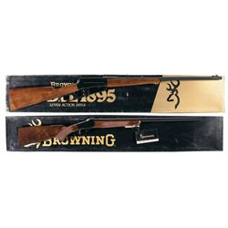 Two Boxed Browning Rifles