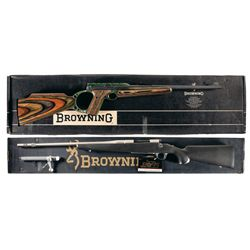 Two Boxed Browning Long Guns