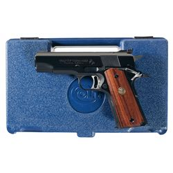 Colt Gold Cup National Match Commander Custom Edition 1911 Semi-Automatic Pistol with Case