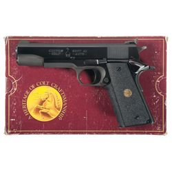 Custom Colt Government Model 1 of 1000 Semi-Automatic Pistol with Box