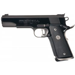 Colt MK IV Series 80 Gold Cup National Match Semi-Automatic Pistol