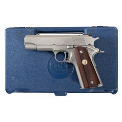 Colt Gold Cup Commander National Match Custom Edition Semi-Automatic Pistol with Case