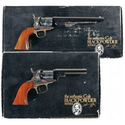 Two Boxed Black Powder Series Colt Percussion Revolvers