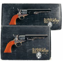 Two Boxed Colt Black Powder Series Revolvers