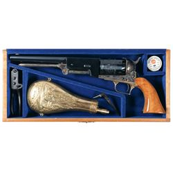 Cased Colt Walker Black Powder Signature Series Percussion Revolver with Accessories