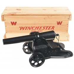 Winchester 10 Gauge Signal Cannon with Crate and Shipping Box