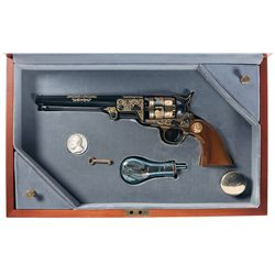 Cased U.S. Historical Society Robert E. Lee Colt Model 1851 Navy Commemorative Revolver