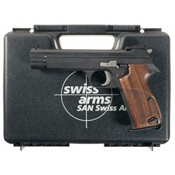 Sig Arms Model P210-6 Heavy Frame Semi-Automatic Target Pistol with Case