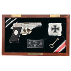 Cased American Historical Society Walther Knight's Cross PP Semi-Automatic Pistol