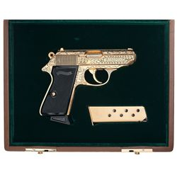 Interarms Walther PPKS American Limited Collectors Series Semi-Automatic Pistol with Hard Case and B