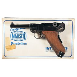 Mauser Interarms American Eagle Luger Semi-Automatic Pistol with Box