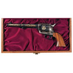 Cased Sam Colt Commemorative Single Action Army Revolver