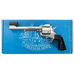 "Freedom Arms Model 83 ""Premier Grade"" Single Action Revolver in 454 Casull, with Box and Papers"